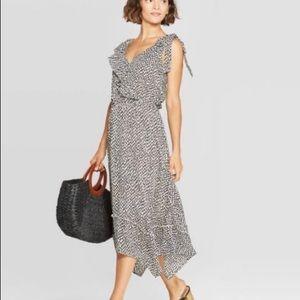 Who What Wear sleeveless leopard dress